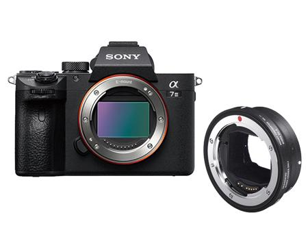 Sony ALPHA 7 M3+MC-11