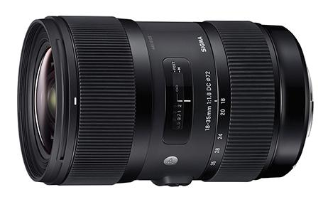 Sigma Objectiva 18-35mm f1.8 (A) DC HSM-Canon