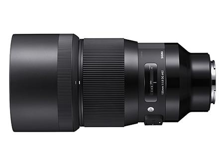 Sigma Objectiva 135mm f1.8 (A) DG HSM-L MOUNT