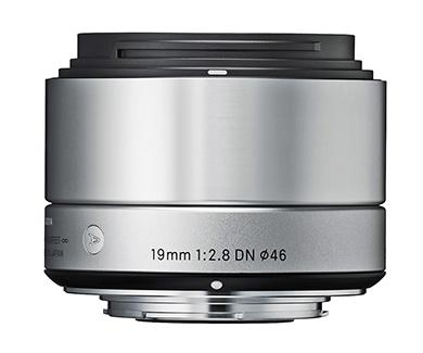 Sigma Objectiva 19mm/2.8 (A) DN SILVER-SONY