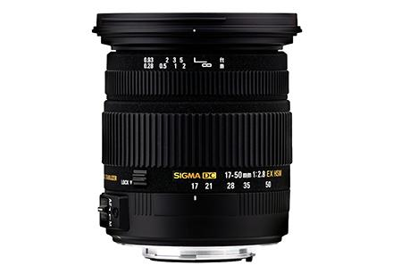 Sigma Objectiva 17-50mm f2.8 EX DC OS HSM-Canon