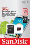 Sandisk cartao Ultra Android MicroSDXC 128GB 80MB seg