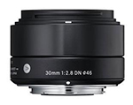 Sigma Objectiva 30mm/2.8 (A) DN BLACK-MFT